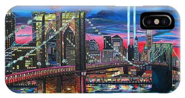 Manhattan Kinda Night IPhone Case