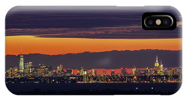 Manhattan Lights IPhone Case