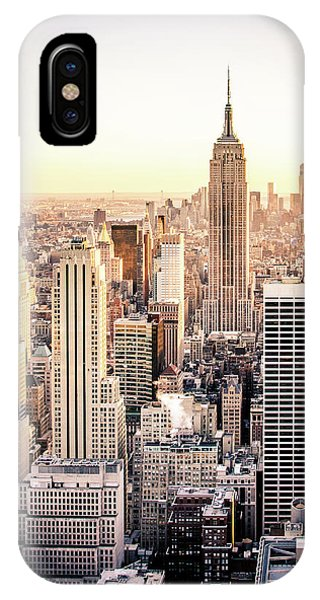 Buildings iPhone Case - Manhattan by Michael Weber