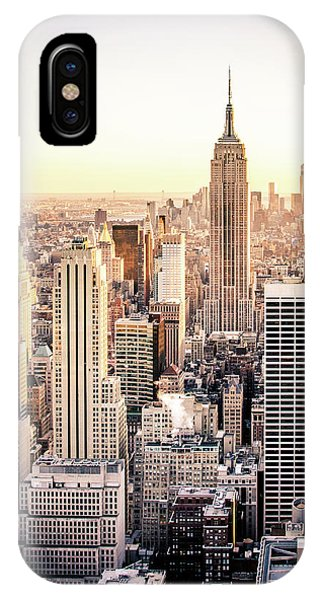Empire iPhone Case - Manhattan by Michael Weber