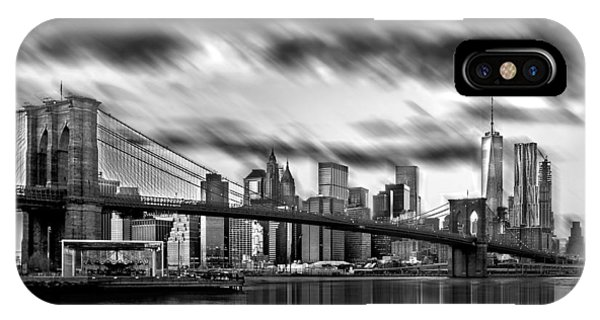 Downtown iPhone Case - Manhattan Moods by Az Jackson