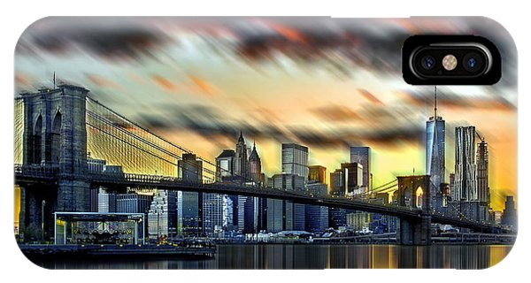 Beautiful Sunrise iPhone Case - Manhattan Passion by Az Jackson