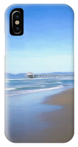 IPhone Case featuring the photograph Manhattan Pier Art by Michael Hope