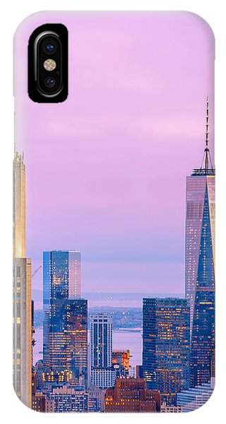 Building iPhone Case - Manhattan Romance by Az Jackson