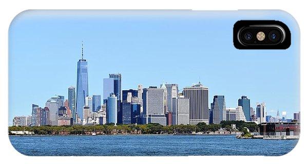 Manhattan Skyline 1 IPhone Case