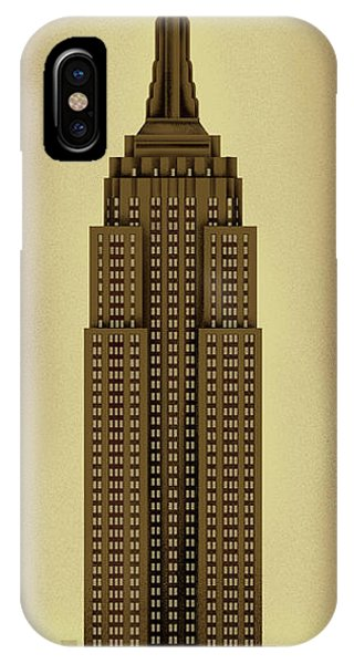Empire State Building iPhone Case - Manhattan by Steve Forney