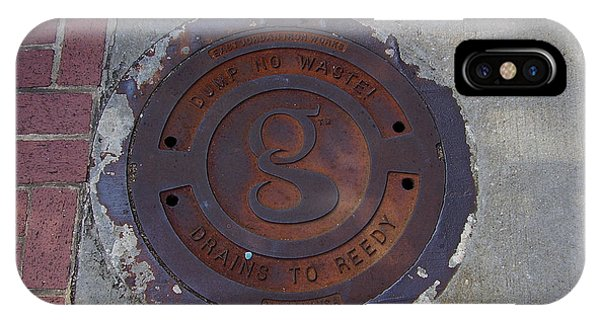 Manhole II IPhone Case