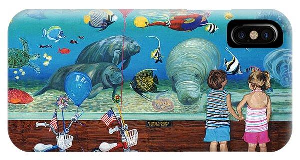 Manitee Aquarium With My Twins IPhone Case