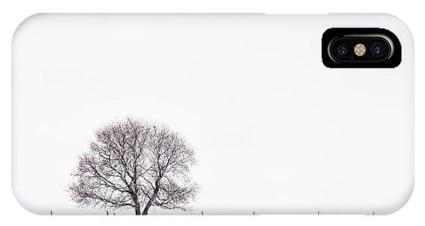Manitoba Winter IPhone Case