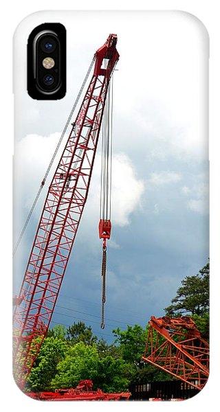 Manitowoc Crane 2015 IPhone Case