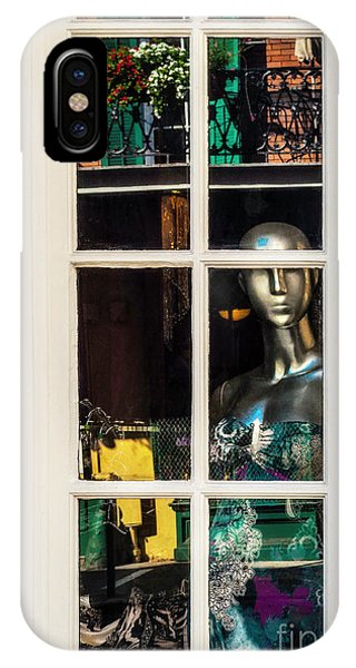 Mannequin Reflecting IPhone Case