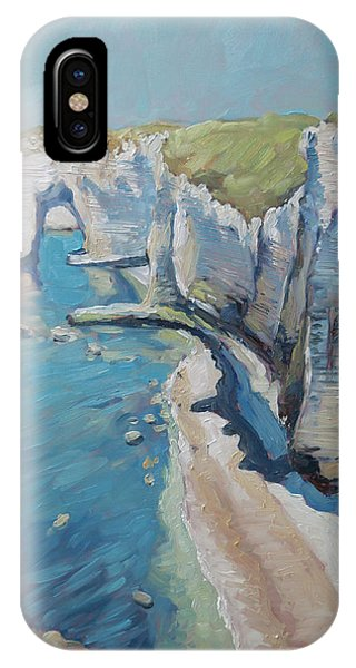 Manneport, The Cliffs At Etretat IPhone Case