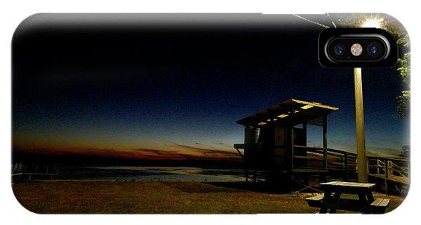Manns Beach Nocturnal 2 IPhone Case