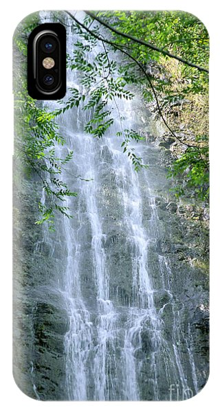 Manoa Valley Waterfall IPhone Case