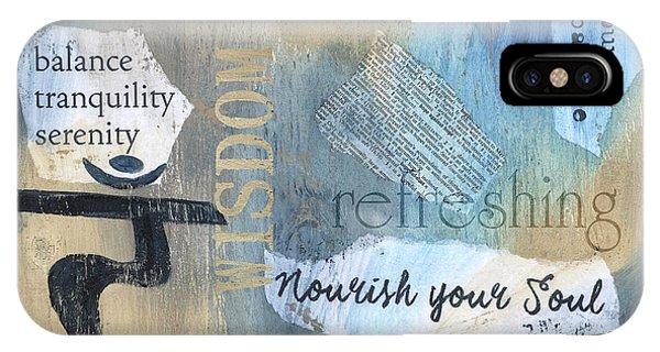 Relaxation iPhone Case - Mantra by Debbie DeWitt