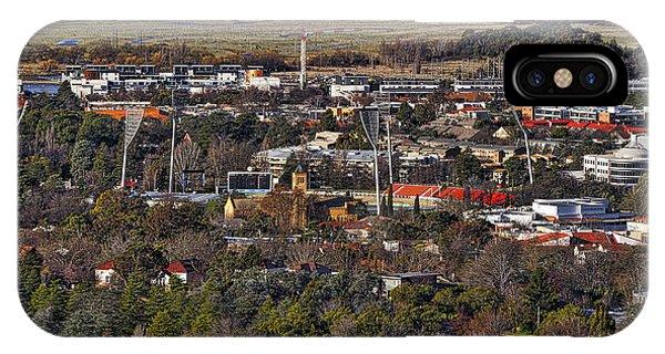 Manuka Oval - Canberra - Australia IPhone Case