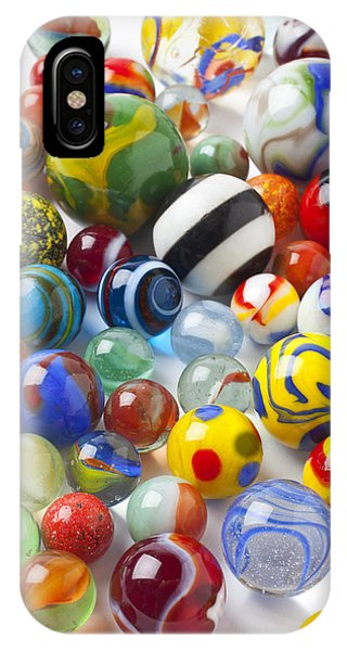 Novelty iPhone Case - Many Beautiful Marbles by Garry Gay