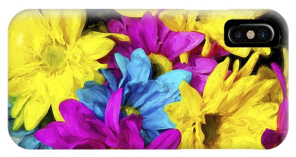 Floral Arrangement iPhone Case - Many Colors II by Jon Glaser