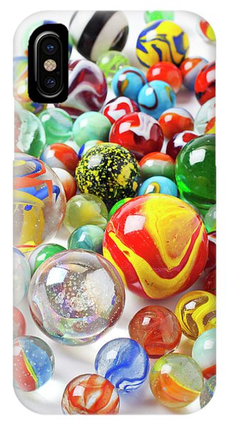Novelty iPhone Case - Many Marbles  by Garry Gay