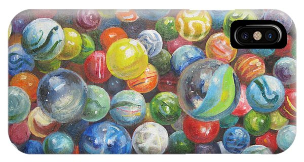 Many Marbles IPhone Case
