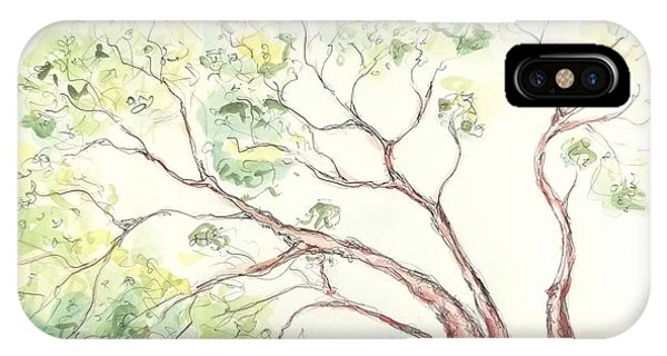 Manzanita Tree IPhone Case