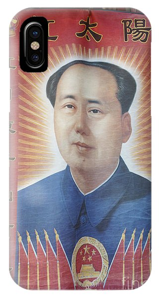 Mao Zedong Hanging Vancouver Chinatown IPhone Case