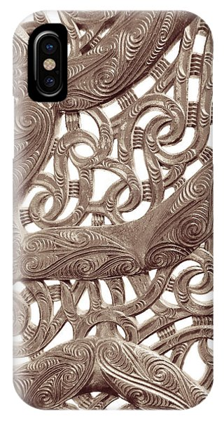 Maori Abstract IPhone Case