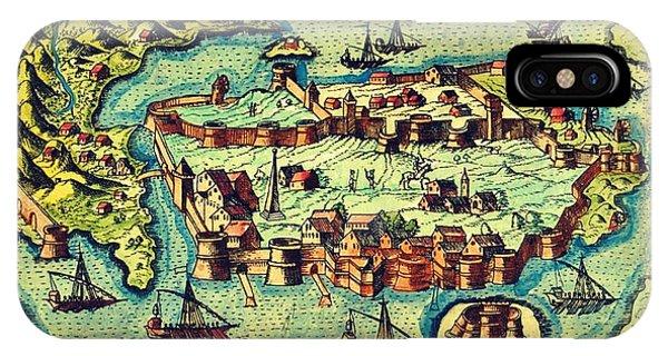 Map Seaport IPhone Case