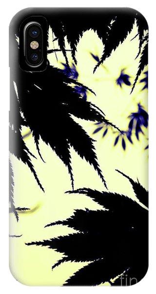Maple Silhouette IPhone Case