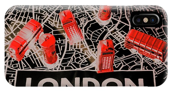 Greater London iPhone Case - Maps From London Town by Jorgo Photography - Wall Art Gallery