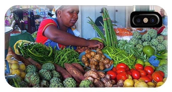 Maputo Market IPhone Case