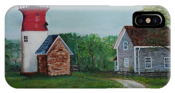 Marbelhead Lighthouse IPhone Case