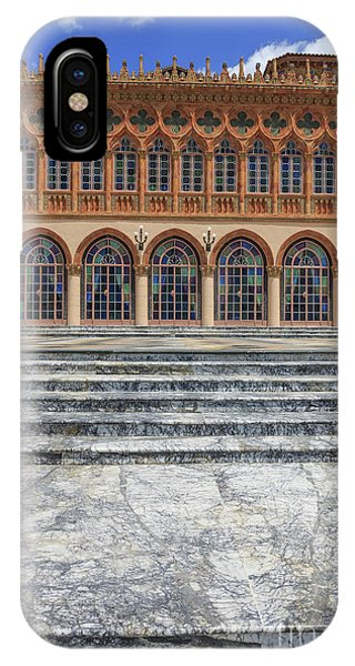 Marble Steps Leading To Mansion IPhone Case