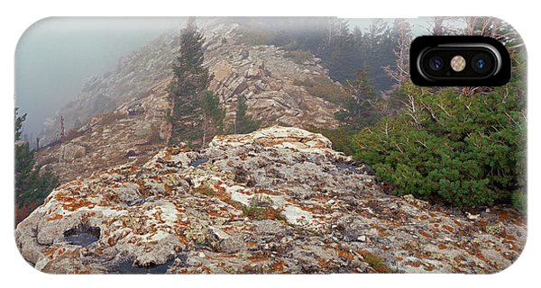 Marble View Fog-sq IPhone Case