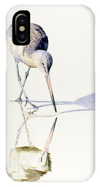Marbled Godwit Times Three IPhone Case