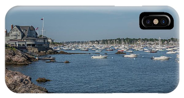 Marblehead Harbor IPhone Case