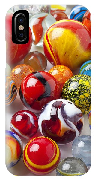 Novelty iPhone Case - Marbles Close Up by Garry Gay