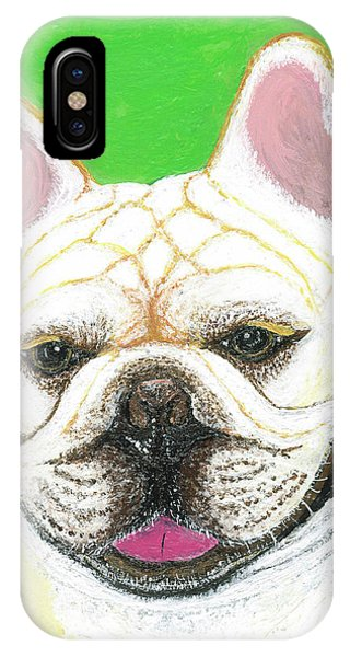 Marcel French Bulldog IPhone Case
