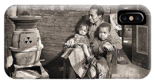 March 1937 Scott's Run, West Virginia Johnson Family. IPhone Case