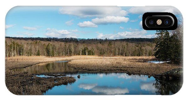 March Afternoon At Black Creek IPhone Case