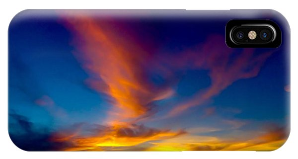 Sunset March 31, 2018 IPhone Case