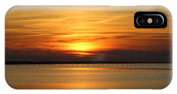 March Sunset IPhone Case