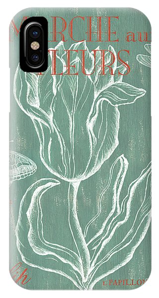 Blossoms iPhone Case - Marche Aux Fleurs by Debbie DeWitt