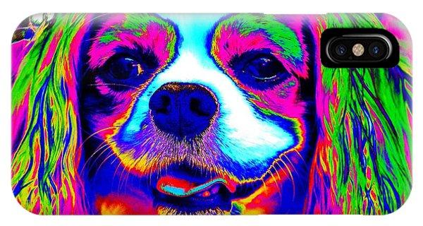 Mardi Gras Dog IPhone Case