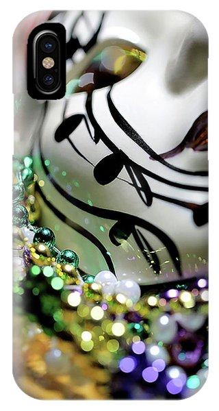 Mardi Gras I IPhone Case