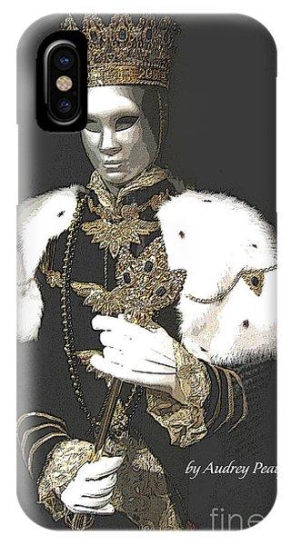 Mardi Gras King IPhone Case