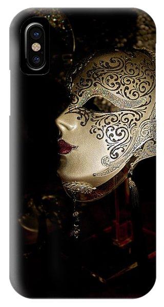 Mardi Gras Mask IPhone Case