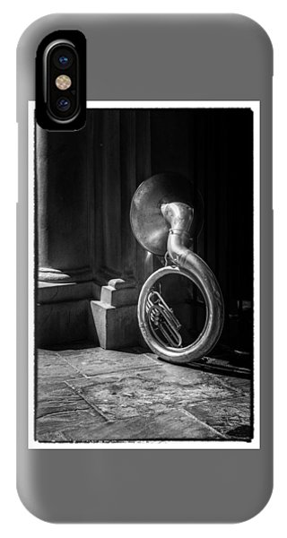 Mardi Gras Tuba At Jackson Square IPhone Case