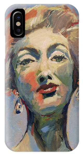 Briex iPhone Case - Marella Agnelli by Nop Briex
