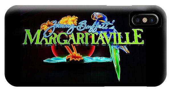 Margaritaville Neon IPhone Case